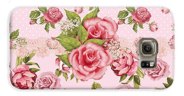 Rose Elegance Galaxy S6 Case by Debra  Miller