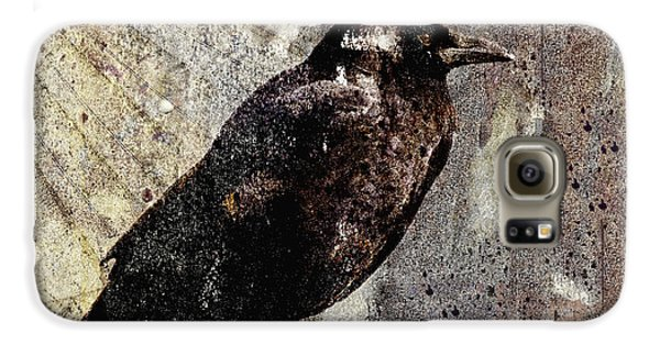 Same Crow Different Day Galaxy S6 Case by Carol Leigh