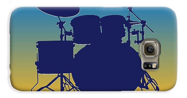 San Diego Chargers Drum Set Galaxy S6 Case by Joe Hamilton