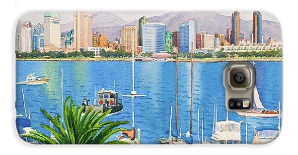 San Diego Fantasy Galaxy S6 Case by Mary Helmreich