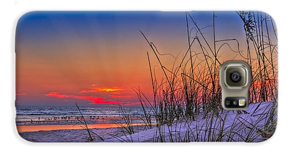 Sand And Sea Galaxy S6 Case by Marvin Spates