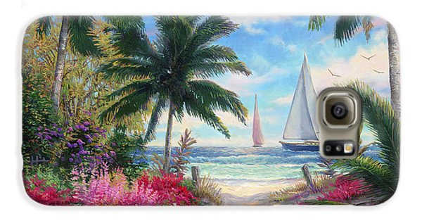 Sea Breeze Trail Galaxy S6 Case by Chuck Pinson