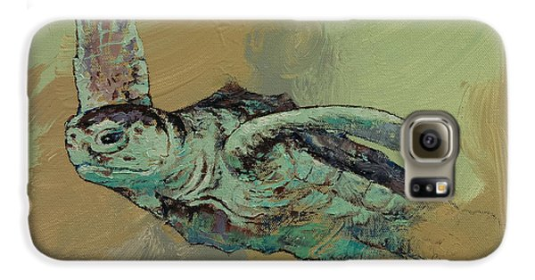 Sea Turtle Galaxy S6 Case by Michael Creese