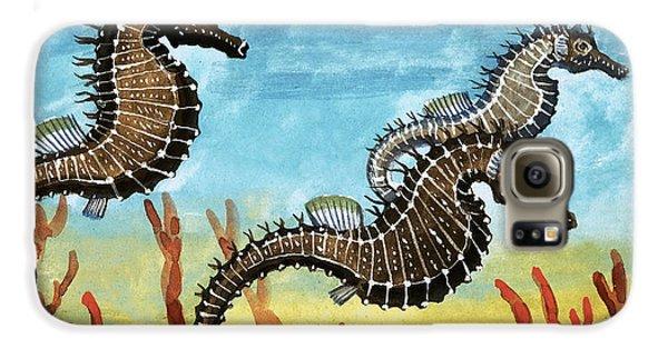 Seahorses Galaxy S6 Case by English School