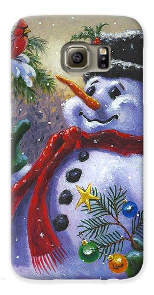 Seasons Greetings Galaxy S6 Case by Richard De Wolfe
