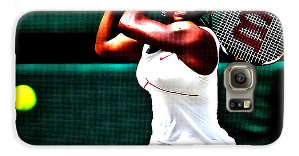 Serena Williams 3a Galaxy S6 Case by Brian Reaves