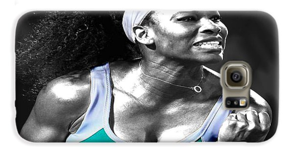 Serena Williams Ace Galaxy S6 Case by Brian Reaves