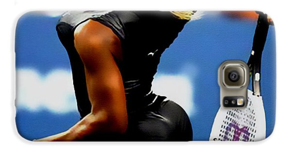 Serena Williams Catsuit II Galaxy S6 Case by Brian Reaves