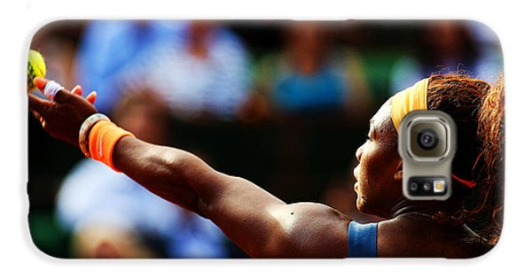 Serena Williams Galaxy S6 Case by Srdjan Petrovic