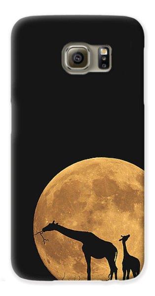 Serengeti Safari Galaxy S6 Case by Carrie Ann Grippo-Pike