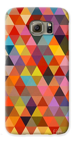 Shapes Galaxy S6 Case by Mark Ashkenazi