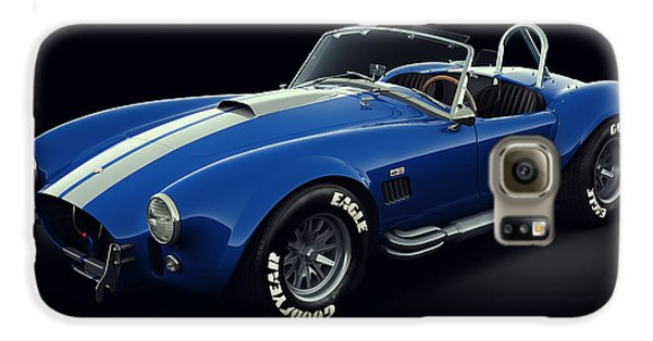 Shelby Cobra 427 - Bolt Galaxy S6 Case by Marc Orphanos