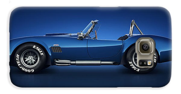 Shelby Cobra 427 - Water Snake Galaxy S6 Case by Marc Orphanos