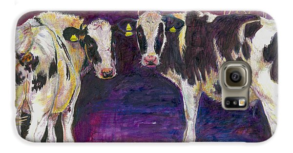 Sheltering Cows Galaxy S6 Case by Helen White