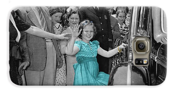 Shirley Temple Galaxy S6 Case by Andrew Fare
