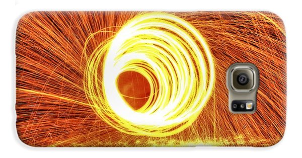 Shooting Sparks Galaxy S6 Case by Dan Sproul