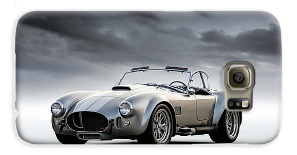 Silver Ac Cobra Galaxy S6 Case by Douglas Pittman