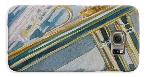 Silver And Brass Keys Galaxy S6 Case by Jenny Armitage