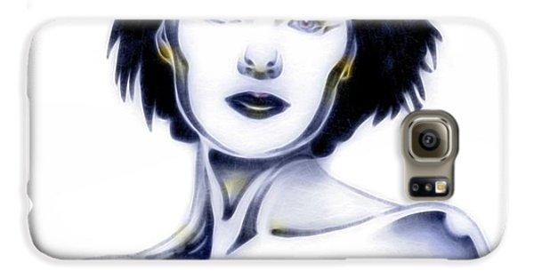 Silver Siren Samsung Galaxy Case by Wu Wei