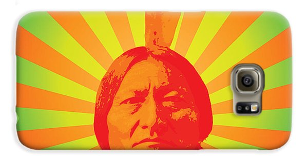 Sitting Bull Galaxy S6 Case by Gary Grayson