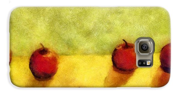 Six Apples Galaxy S6 Case by Michelle Calkins