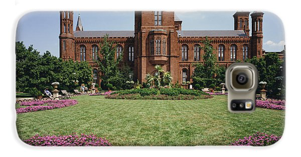 Smithsonian Institution Building Galaxy S6 Case by Rafael Macia