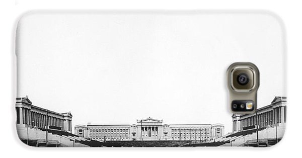 Soldiers' Field And Museum Galaxy S6 Case by Underwood Archives