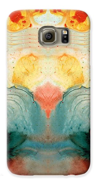 Soul Star - Abstract Art By Sharon Cummings Galaxy S6 Case by Sharon Cummings