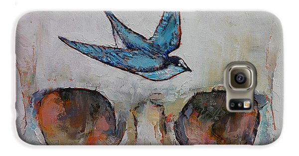 Sparrow Galaxy S6 Case by Michael Creese