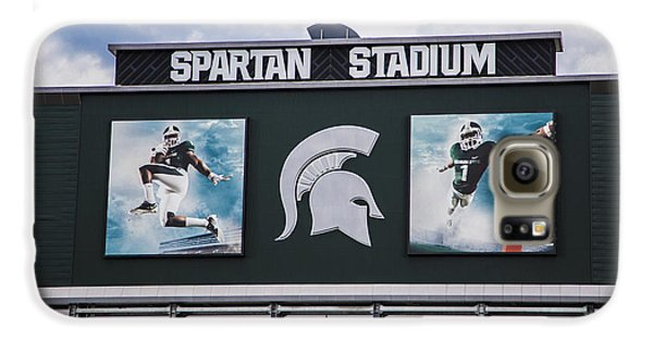 Spartan Stadium Scoreboard  Galaxy S6 Case by John McGraw