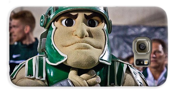 Sparty And Izzo National Anthem  Galaxy S6 Case by John McGraw