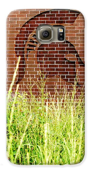 Sparty On The Wall Galaxy S6 Case by John McGraw