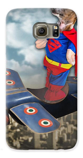 Speedolini Flying High Galaxy Case by Kathy Tarochione