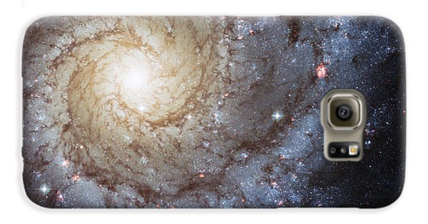 Spiral Galaxy M74 Galaxy S6 Case by Adam Romanowicz