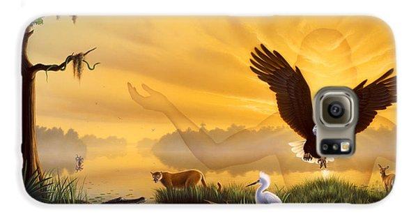 Spirit Of The Everglades Galaxy S6 Case by Jerry LoFaro