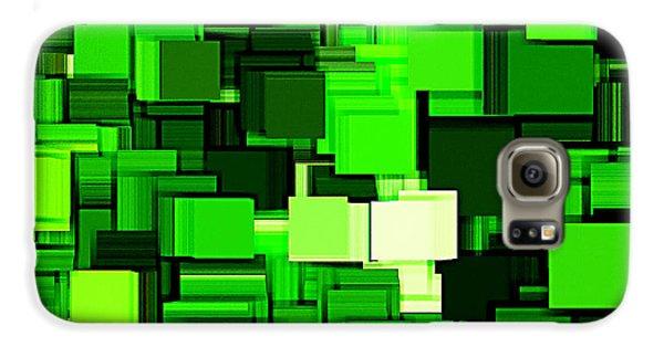 Spring Modern Abstract Xiv Galaxy S6 Case by Lourry Legarde