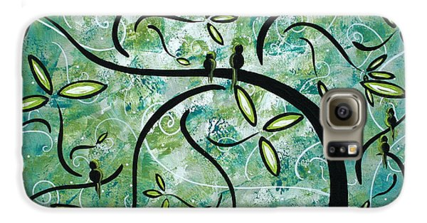 Spring Shine By Madart Galaxy S6 Case by Megan Duncanson