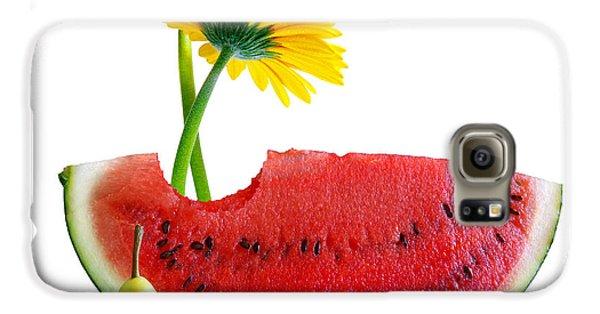 Spring Watermelon Galaxy S6 Case by Carlos Caetano
