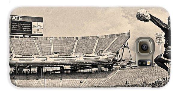 Stadium Cheer Black And White Galaxy S6 Case by Tom Gari Gallery-Three-Photography