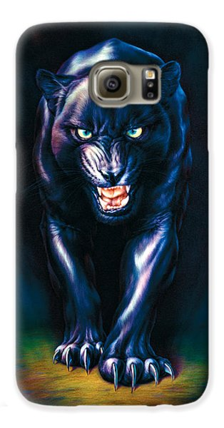 Stalking Panther Galaxy S6 Case by Andrew Farley