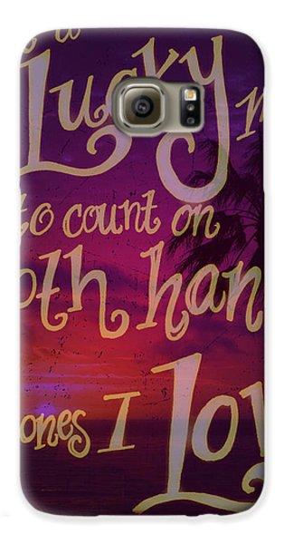 Stan's Beach 2 Galaxy S6 Case by Liz Martinez