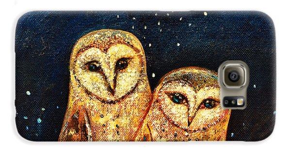 Starlight Owls Galaxy S6 Case by Shijun Munns