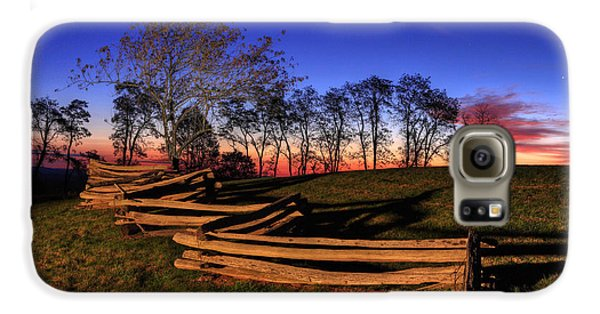 Stars At Sunrise On The Blue Ridge Galaxy S6 Case by Dan Carmichael