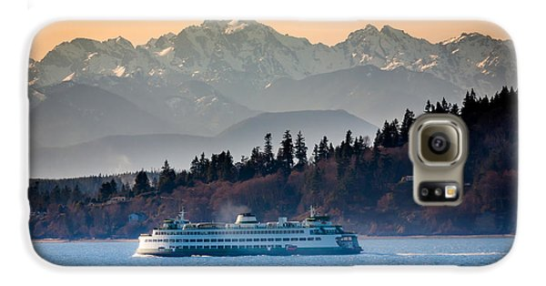 State Ferry And The Olympics Galaxy S6 Case by Inge Johnsson