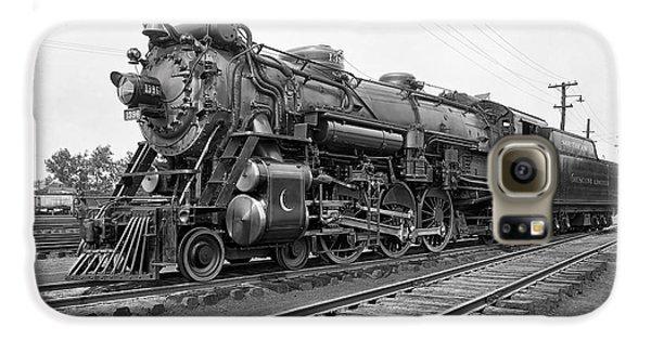 Steam Locomotive Crescent Limited C. 1927 Galaxy S6 Case by Daniel Hagerman