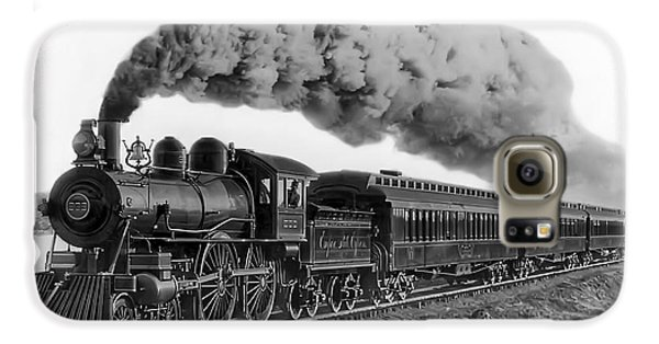 Steam Locomotive No. 999 - C. 1893 Galaxy S6 Case by Daniel Hagerman