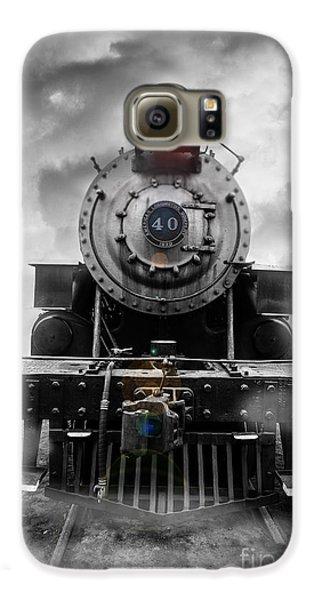 Steam Train Dream Galaxy S6 Case by Edward Fielding