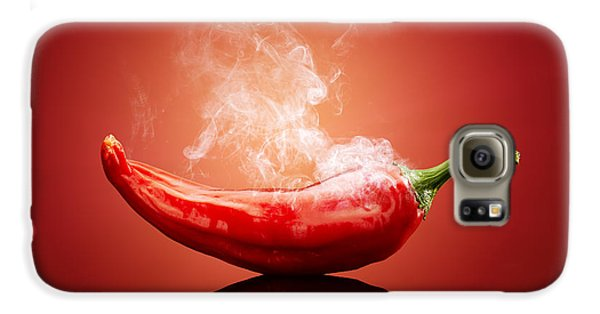 Steaming Hot Chilli Galaxy S6 Case by Johan Swanepoel