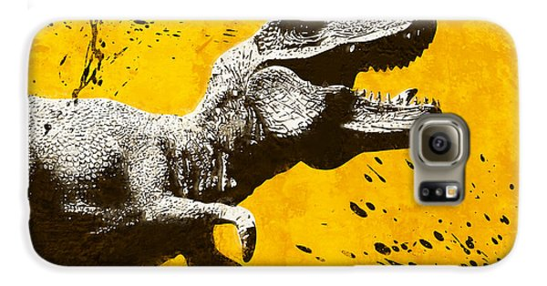 Stencil Trex Galaxy S6 Case by Pixel Chimp