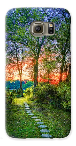 Stepping Stones To The Light Galaxy S6 Case by Marvin Spates